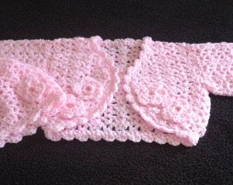 CROCHET RIBBON BOLERO ? Only New Crochet Patterns
