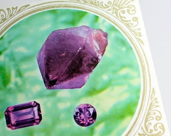 Emerald/Smaragd ,Amethist, Agaat/Agate- set 3 books-semiprecious stone information-nature stones- read about stones- treasuries of the earth