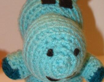 Amigurumi Hippo / Yarn Hippo / Stuffed Toy Hippo