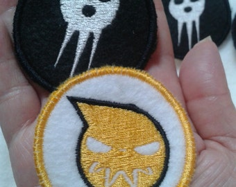 Soul Eater Sew On Patches