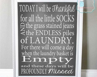 Laundry Rules Laundry Room Decor Printable Wall Art Sign - Laundry room signs