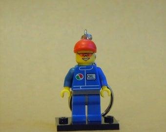 Gas Attendant Custom LEGO Minifigure