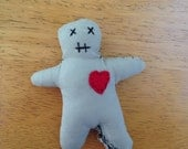 Voodoo doll catnip cat toy