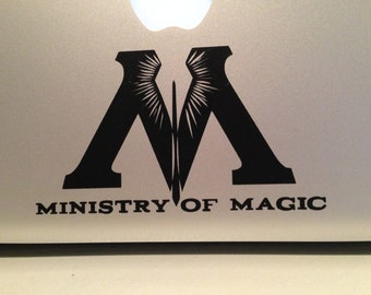 Harry Potter Ministry of Magic Logo Vinyl Decal