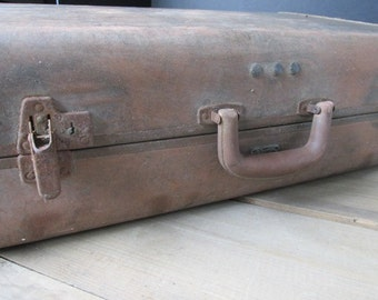 Vintage Samsonite Suitcase Luggage Vintage Wedding Decor