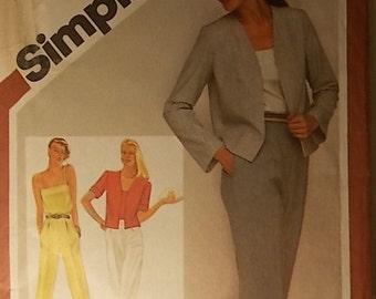 Vintage Simplicity Pattern 9944 Size 10