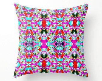 Throw pillow covers,  Boho Pillow Cover, Decorative Pillow Cover,