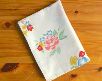 Vintage Floral Tablecloth Rectangular