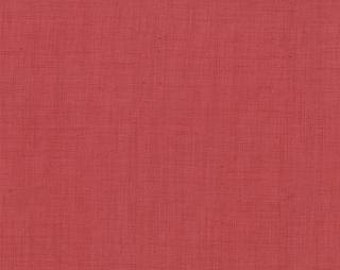 Le Bouquet Francais by French General for Moda, Solid Faded Red 13529 109