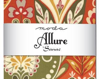 Allure Charm Pack by Sanae for Moda