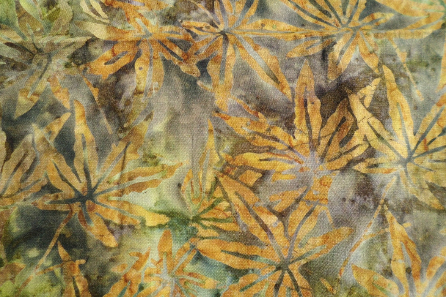 Java batiks by galaxy fall leaves from stacksofstash on for Galaxy fabric canada