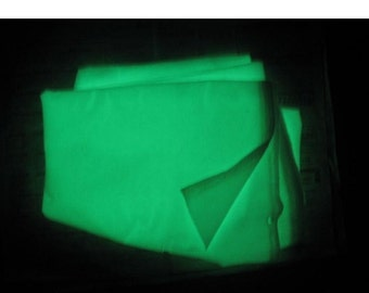Glow in the Dark Fabrics - Fat Quarter - Different Colours