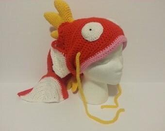 Crochet Magikarp Pokemon Hat
