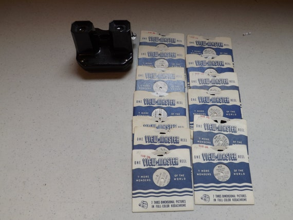 Rare Vintage Sawyers Viewmaster And Several Reels