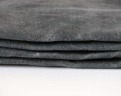 Hand Waxed Cotton Canvas Fabric - Graphite Grey 10oz. 59 Inches wide by the yard