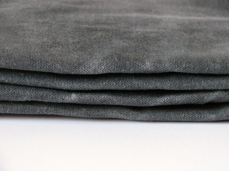 hand waxed cotton canvas fabric graphite grey 10oz 59