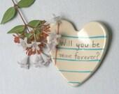 Love Holder Notebook Ceramic Tray