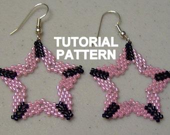 Tutorial: Peyote Star Beaded Earrings