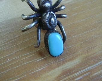 vintage sterling spider pin or tie tack
