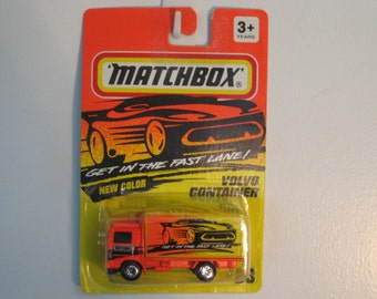 Matchbox Volvo Container Truck  1994 Release