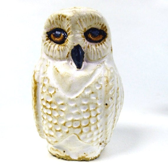 Snowy Owl Light Pull Cord Pull Novelty Animal Hand Crafted