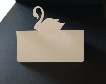 Swan Placecards