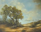 """Oil Painting """"After the Storm """" by Lauren Kusar, Free Shipping"""