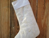Custom listing Beaded Lace stocking - free shipping in North America