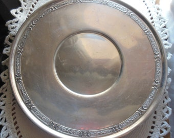 Vintage Ten Inch Benedict Silverplate Tray