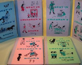 Best In Children's Books - Vintage Children's Books - Set Of Six