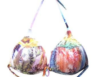 Brazilian Bikini Top Swimsuit Swimwear Arpa Bikineria Beach Peach Top