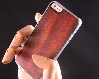 iPhone 5 5s Wood Phone Case - Orange glaze Hand finished wood smart phone case