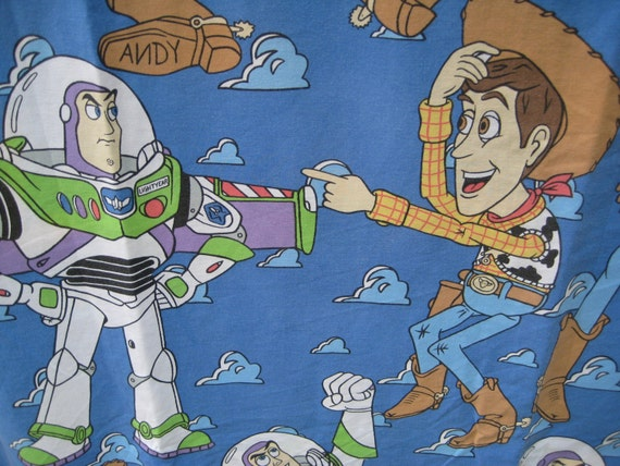 Toy Story Bedding Cover Duvet Comforter Quilt Woody Buzz Lightyear ...