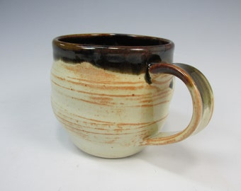 Handmade, stoneware, coffee or tea mug