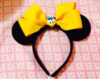 Minne Mouse Donald Duck INSPIRED Headband Ears