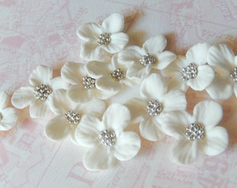 "White Sugar Blossoms ""By The Dozen"""