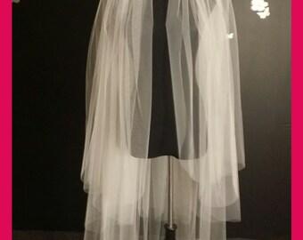 3 tiers veil,3 layers veil,waltz veil