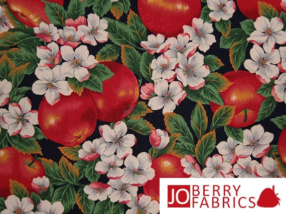 Apple Print Fabric Cider Hill By Cranston Print Works Quilt