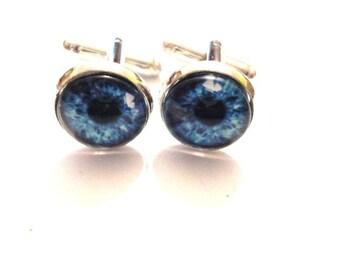 Cufflinks blue eyes
