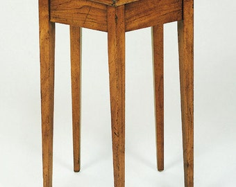 No. 412 Five Sided Table in Cherry, Vintage Finish, Antique Distressing