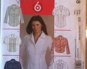 "McCall's Shirts in Two Lengths Pattern 5138 Sizes 14-20, Bust 36""-42"" Waist 28""-34"" Hip 38""-44"""