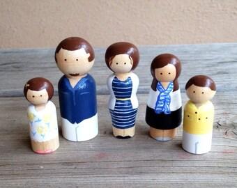 Custom family set of 5