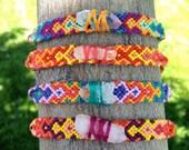 Tribal Friendship Bracelet with Quartz