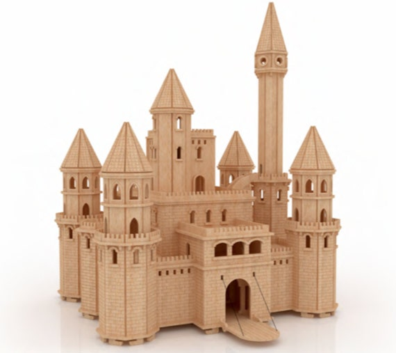 Craft Kit Doll House The Fairytale Castle By Buildeez On Etsy