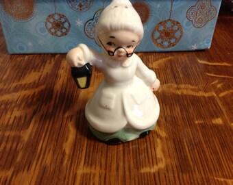 Vintage Old Granny Salt Shaker