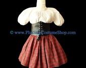 SEXY SCHOOL GIRL Plus Size Halloween Costume Adult Womens Size 1X 2X 3X 4X 5X - 3 pcs New