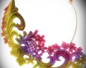 Custom Order for Blair- Endangered Species Lace Necklace