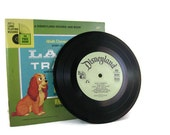 Disney's Lady and the Tramp Book With Record (See the Pictures. Hear the Record. Read the Book.)