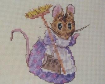 beatrix potter hunca munca  cross stitch CHART INSTRUCTIONS ONLY lakeland artist new