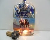 Custom Order - Engraved Woodford Reserve Bottle Light